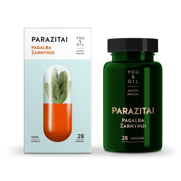 Parasites. Cleanse Support