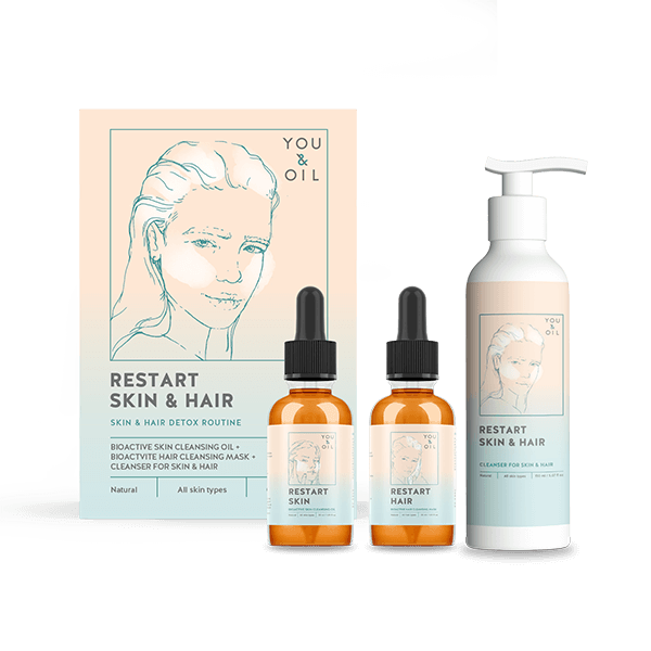 Restart Skin & Hair. 3 in 1 Bundle