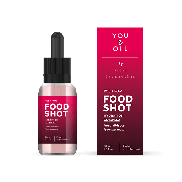 1844Food Shots. Rose Hibiscus + Pomegranate