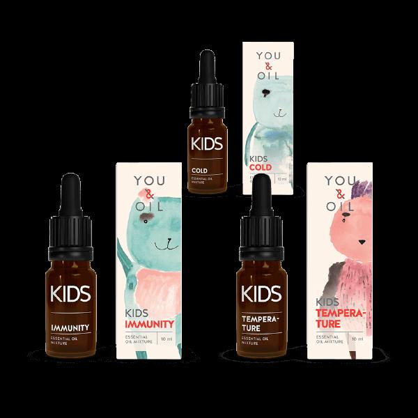 13497KIDS Immunity + KIDS Cold + KIDS Temperature